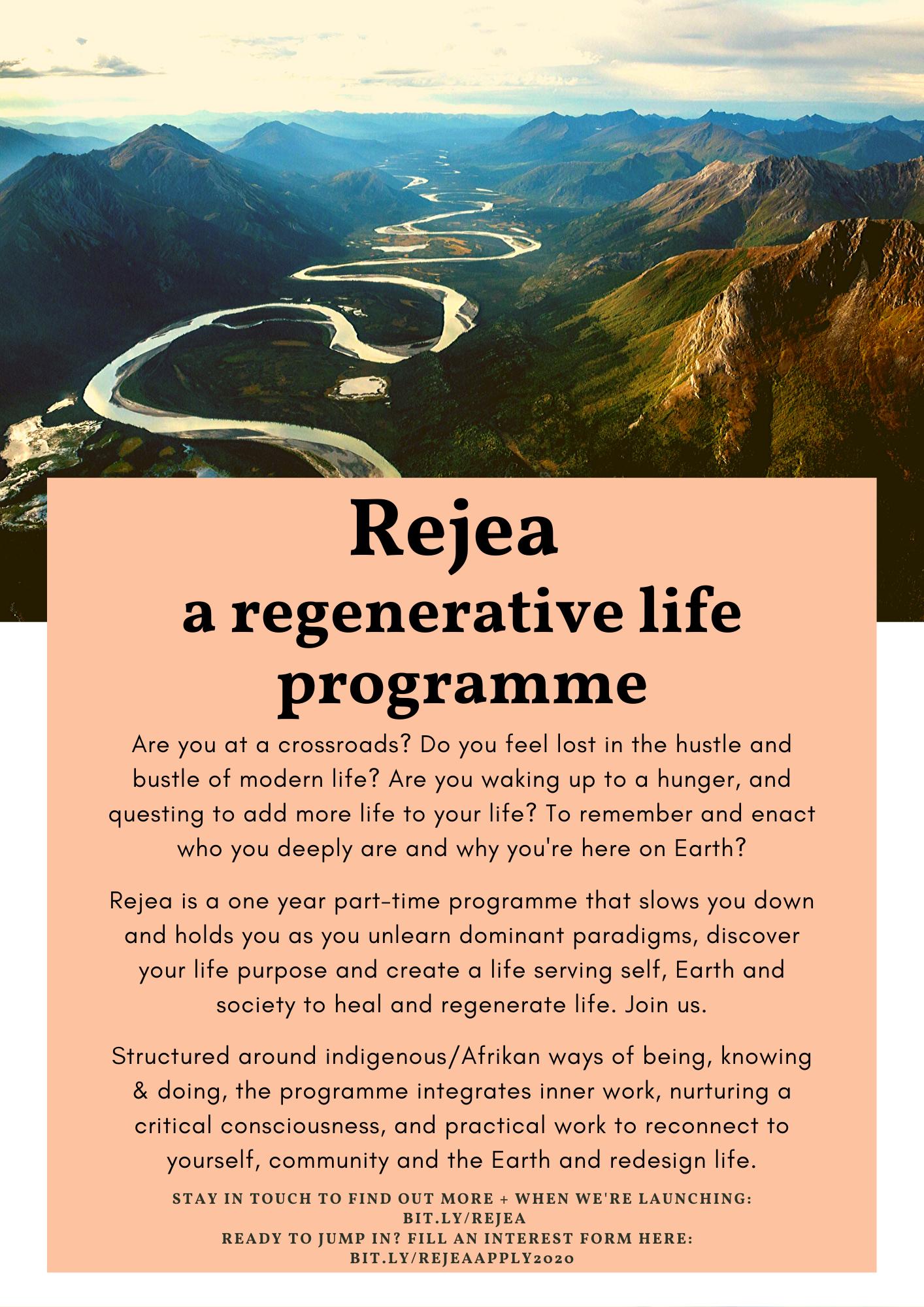 rejea regenerative life programme